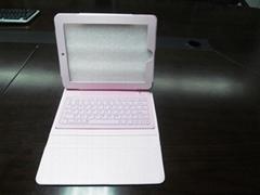 2011 new electronics Ipad bluetooth keyboard with Ipad leather case