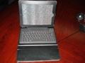2011 new electronics Ipad bluetooth keyboard with Ipad leather case KB-6119 1