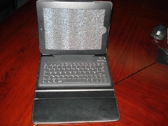 2011 new electronics Ipad bluetooth keyboard with Ipad leather case KB-6119