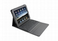 2011 new electronics Ipad bluetooth keyboard with Ipad leather case KB-6119 3