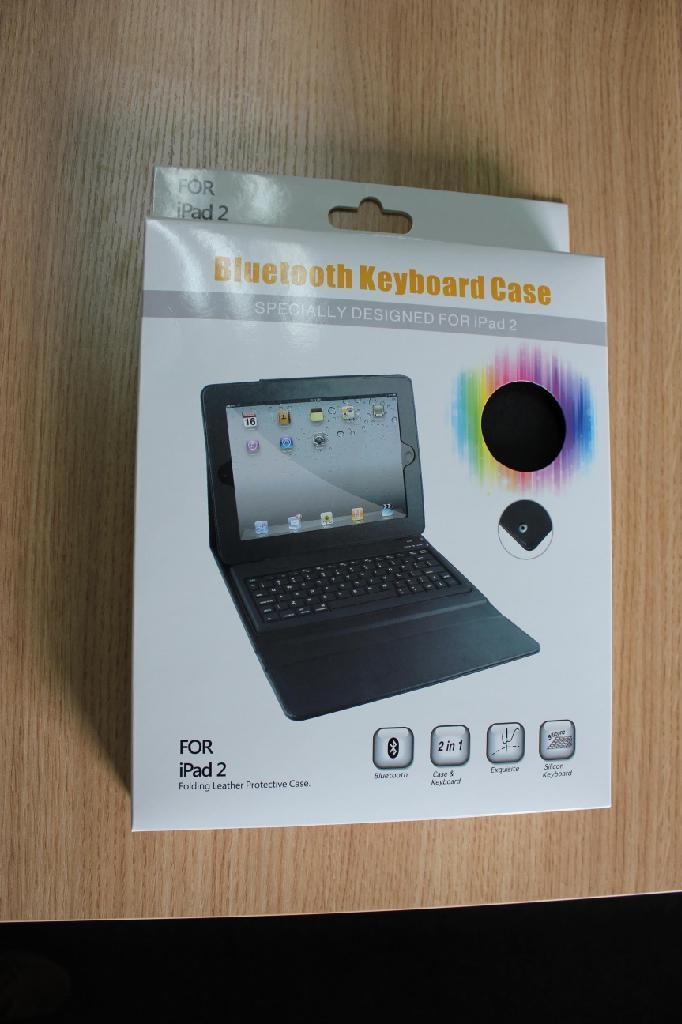 2011 new electronics Ipad bluetooth keyboard with Ipad leather case KB-6119 5