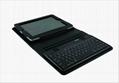 2011 new electronics Ipad bluetooth keyboard with Ipad leather case KB-6132 3