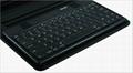 2011 new electronics Ipad bluetooth keyboard with Ipad leather case KB-6132 4
