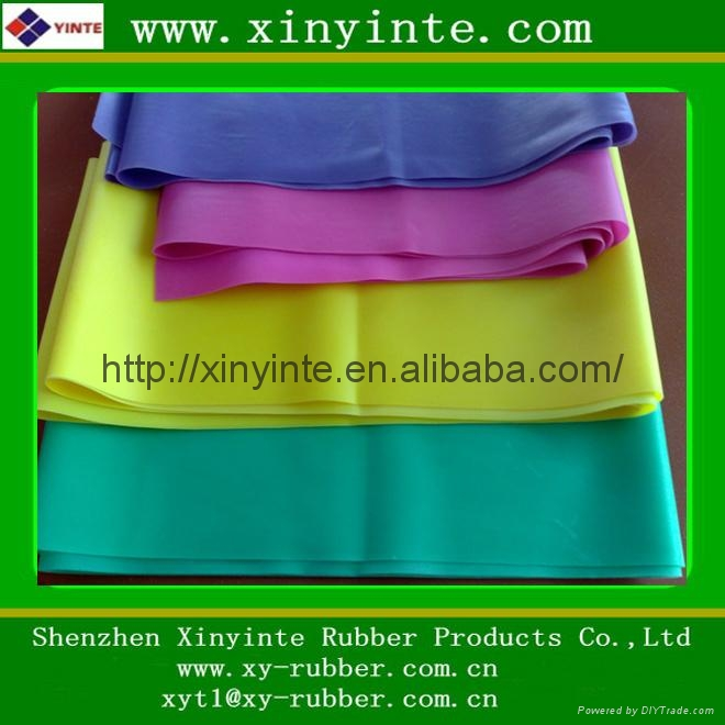 High Elasticity Latex Rubber Sheet Xinyinte China