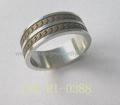 不锈钢链条戒指供应商