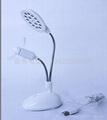(2 in 1)Desk lamp and fan 14PCS lamp and fan USB lamp and fan 2