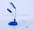 (2 in 1)Desk lamp and fan 14PCS lamp and fan USB lamp and fan 3