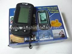 Wireless DOT Martix Sonar Fish Finder (TL66)
