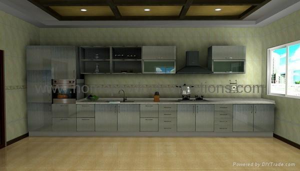 Stainless Steel Kitchen Cabinet - M-K010 - Wei Ju (China ...