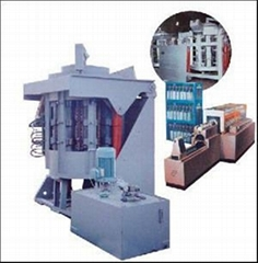inductive melting furnace
