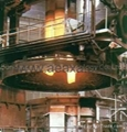 Three phase electric arc furnace