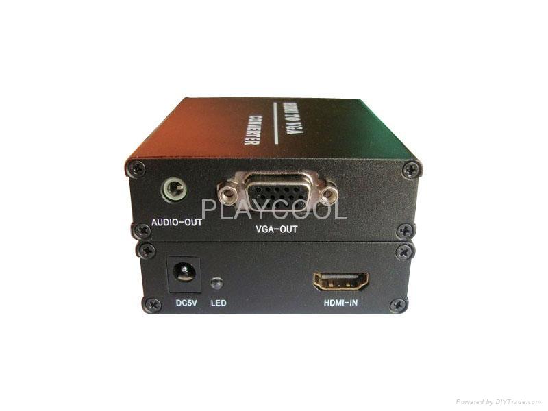 VGA转HDMI,VGA TO HDMI 高清视频转换器编辑 1