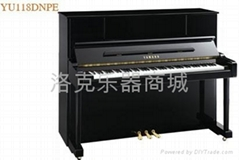 雅马哈 钢琴YU118DNPE(光面乌黑色)