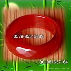 供应红玛瑙切面戒指