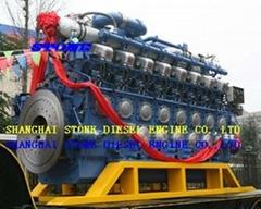 caterpillar marine diesel engine 280 series