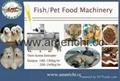 Pet and fish food machinery