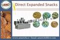 Corn puffs snacks machinery