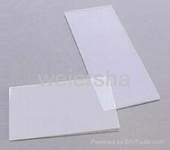 Clear polycarbonate solid sheet for bathroom/greenhouse