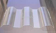 UV protect polycarbonate corrugated roofing,wall sheet
