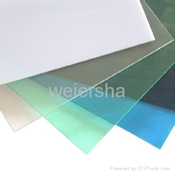 Greenhouse polycarbonate solid sheet 1