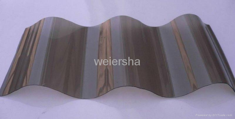 Roma polycarbonate corrugated sheet for greenhouse 1