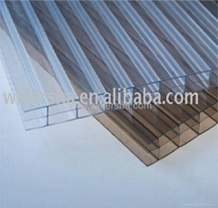 multiwall polycarbonate hollow roofing