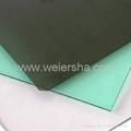 Clear polycarbonate solid sheet for bathroom/greenhouse 2