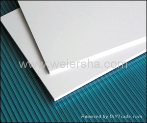 Clear polycarbonate solid sheet for bathroom/greenhouse 4