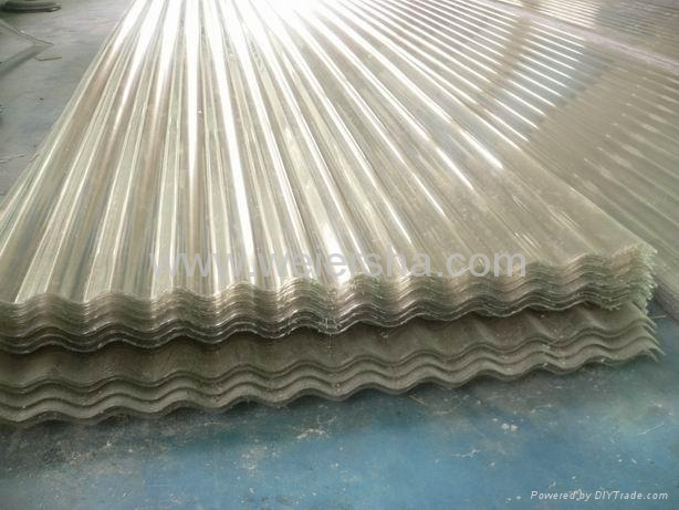 UV protect polycarbonate corrugated roofing,wall sheet 2