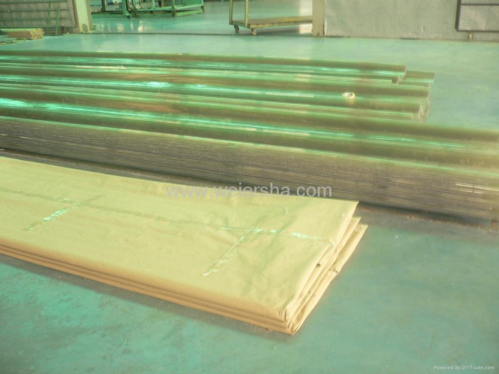 UV protect polycarbonate corrugated roofing,wall sheet 3