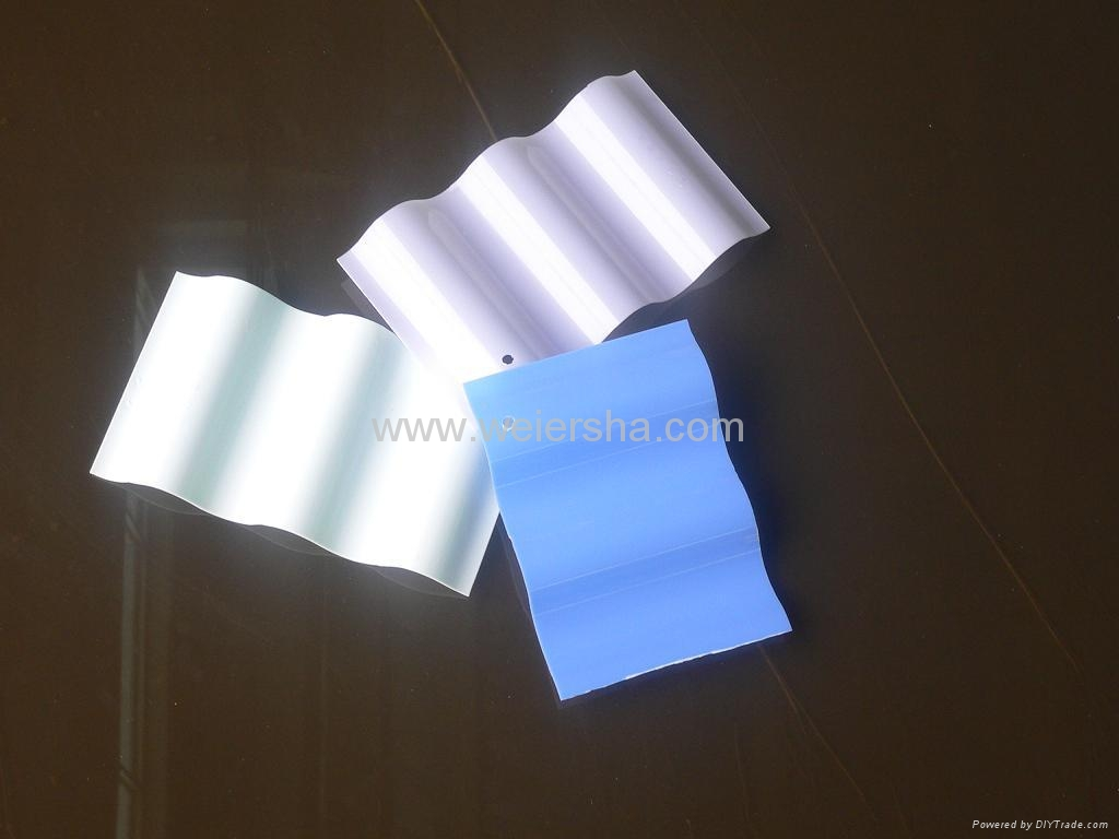 UV protect polycarbonate corrugated roofing,wall sheet 4