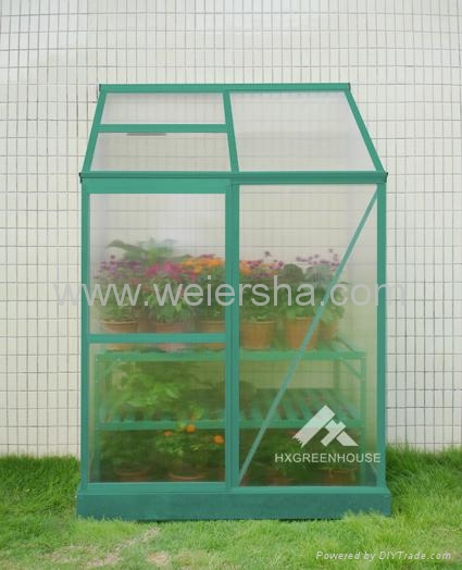 polycarbonate hollow/solid sheet greenhouse 2