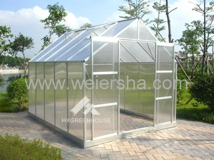 polycarbonate hollow/solid sheet greenhouse 3