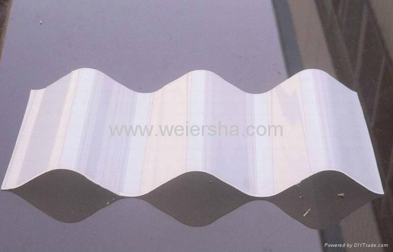UV- protect polycarbonate  corrugated roofing sheet for greenhouse 2