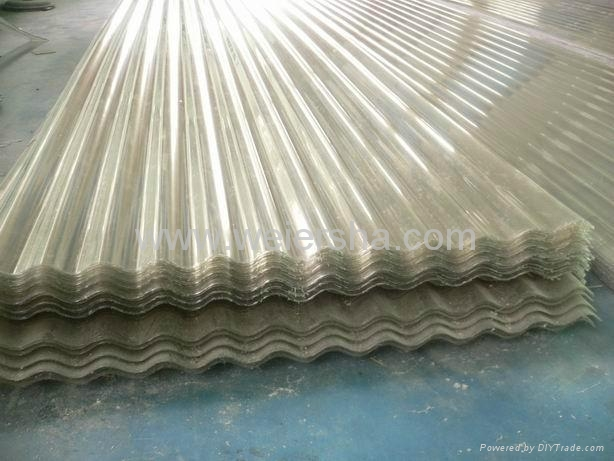 UV- protect polycarbonate  corrugated roofing sheet for greenhouse 3