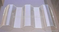 Trapeziodal polycarbonate corrugated roofing sheet 2