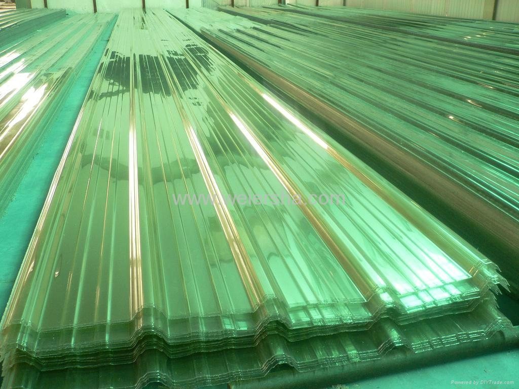 Trapeziodal polycarbonate corrugated roofing sheet 4