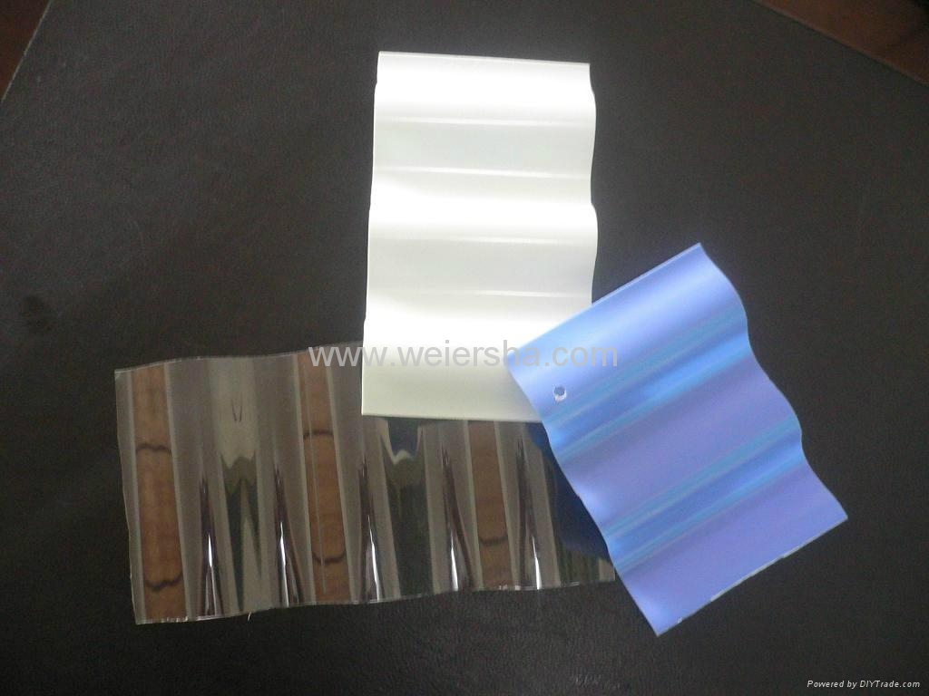 Greenhouse Roofing Wall Corrugated Polycarbonate Sheet