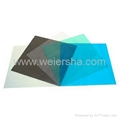 polycarbonate solid flat roofing sheet for carport bathroom 2