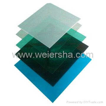 polycarbonate solid flat roofing sheet for carport bathroom 3