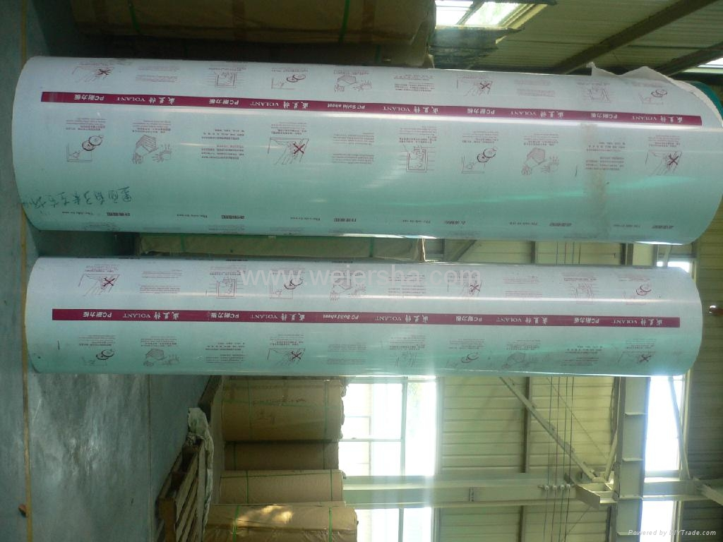 building material polycarbonate embossed solid roofing sheet 4