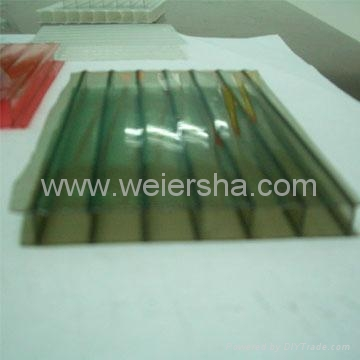 twin wall polycarbonate hollow roofing sheet for greenhouse 4