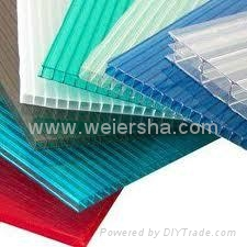 twin wall polycarbonate hollow roofing sheet for greenhouse 5