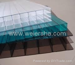 hollow polycarbonate multiwall roofing sheet 4