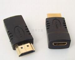 连升工业供应迷你HDMI转接头