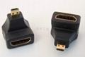 连升工业供应D型HDMI转接头
