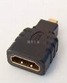 连升工业供应D型HDMI转接头 2
