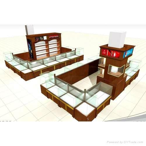 白酒展示櫃設計、紅酒展示櫃設計、煙酒展示櫃設計製作工廠 1