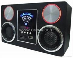 FM raido usb speaker