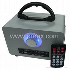 China Supplier of USB MP3 Player Mini  Radio Speaker